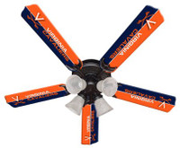"New NCAA VIRGINIA CAVALIERS 52"" Ceiling Fan"