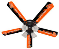 "New NCAA OREGON STATE BEAVERS 52"" Ceiling Fan"