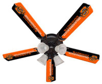 "New NCAA OKLAHOMA STATE COWBOYS 52"" Ceiling Fan"
