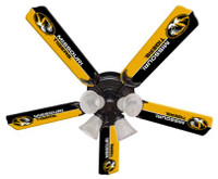 "New NCAA MISSOURI TIGERS 52"" Ceiling Fan"