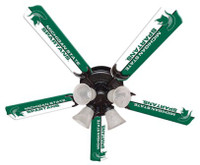 "New NCAA MICHIGAN STATE SPARTANS 52"" Ceiling Fan"