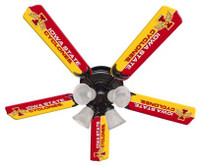 "New NCAA IOWA STATE CYCLONES 52"" Ceiling Fan"