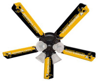 "New NCAA GEORGIA TECH YELLOW JACKETS 52"" Ceiling Fan"