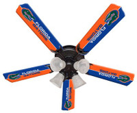 "New NCAA FLORIDA GATORS 52"" Ceiling Fan"