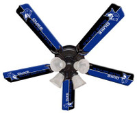 "New NCAA DUKE BLUE DEVILS 52"" Ceiling Fan"