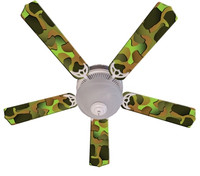 "New CRAZY CAMO Ceiling Fan 52"""