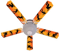 New KIDS RADICAL SKATEBOARDS Ceiling Fan 52""