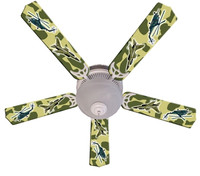 New FREEDOM CAMO MILITARY Ceiling Fan 52""