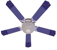 New SHOOTING STARS Ceiling Fan 52""