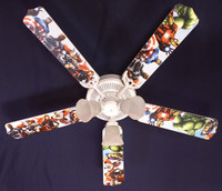 New KIDS AVENGERS MARVEL CAPTAIN AMERICA Ceiling Fan 52""