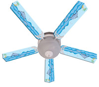 New KIDS PLAYFUL DOLPHINS Ceiling Fan 52""