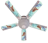 New KIDS DINOSAUR DINO LAND Ceiling Fan 52""
