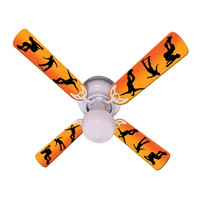 New KIDS RADICAL SKATEBOARDS Ceiling Fan 42""