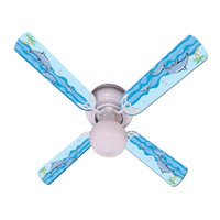 New KIDS PLAYFUL DOLPHINS Ceiling Fan 42""
