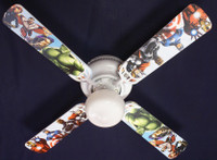 New KIDS AVENGERS MARVEL CAPTAIN AMERICA Ceiling Fan 42""