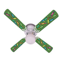 """New KIDS COLORFUL CRAYONS Ceiling Fan 42"""""""