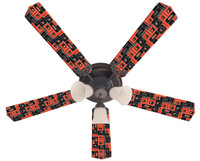 New NHL PHILADELPHIA FLYERS HOCKEY Ceiling Fan 52""
