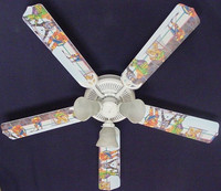 New NHL SPORTS ICE HOCKEY Ceiling Fan 52""