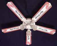 New NHL DETROIT RED WINGS HOCKEY Ceiling Fan 52""