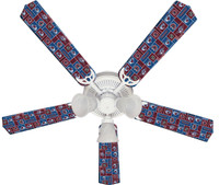 New NHL COLORADO AVALANCHE HOCKEY Ceiling Fan 52""