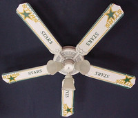 New NHL DALLAS STARS HOCKEY Ceiling Fan 52""