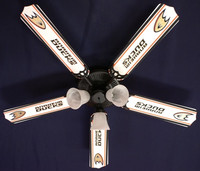 New NHL ANAHEIM DUCKS HOCKEY Ceiling Fan 52""
