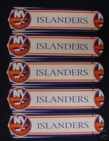 "New NHL NEW YORK ISLANDERS 52"" Ceiling Fan BLADES ONLY"