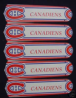 "New NHL MONTREAL CANADIENS 52"" Ceiling Fan BLADES ONLY"