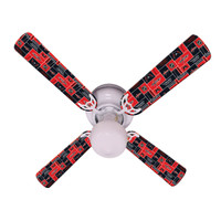 New NHL WASHINGTON CAPITALS Ceiling Fan 42""