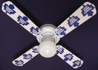 New NHL TORONTO MAPLE LEAFS HOCKEY Ceiling Fan 42""