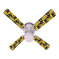 New NHL PITTSBURGH PENGUINS HOCKEY Ceiling Fan 42""
