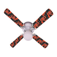 New NHL PHILADELPHIA FLYERS HOCKEY Ceiling Fan 42""