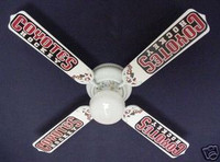 New NHL PHOENIX COYOTES HOCKEY Ceiling Fan 42""