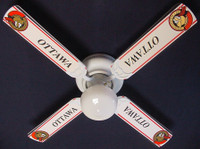 New NHL OTTAWA SENATORS HOCKEY Ceiling Fan 42""