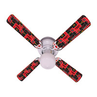 New NHL CHICAGO BLACKHAWKS HOCKEY Ceiling Fan 42""