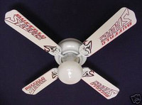 New NHL BUFFALO SABRES HOCKEY Ceiling Fan 42""