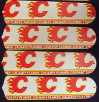 "New NHL CALGARY FLAMES 42"" Ceiling Fan BLADES ONLY"