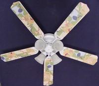 """New KIDSLINE KIDS LINE ZANZIBAR Ceiling Fan 52"""""""