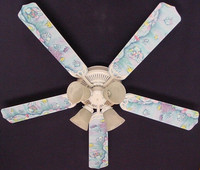 New KIDSLINE KIDS LINE RAINBOW FISH Ceiling Fan 52""