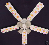 New KIDSLINE KIDS LINE LULLABY BIRDS Ceiling Fan 52""