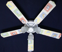 New KIDSLINE KIDS LINE BARN YARD Ceiling Fan 52""