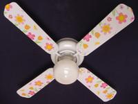 """New KIDSLINE KIDS LINE LULLABY BIRDS  Ceiling Fan 42"""""""