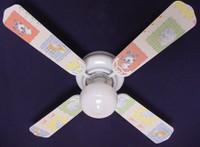 """New KIDSLINE KIDS LINE BARN YARD  Ceiling Fan 42"""""""
