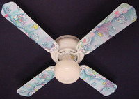 New KIDSLINE KIDS LINE RAINBOW FISH  Ceiling Fan 42""