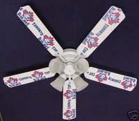 New MLB TORONTO BLUE JAYS BASEBALL Ceiling Fan 52""