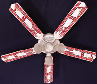 New MLB ST. LOUIS CARDINALS BASEBALL Ceiling Fan 52""