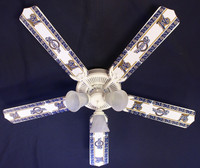 New MLB MILWAUKEE BREWERS BASEBALL Ceiling Fan 52""