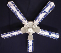 New MLB L.A. DODGERS BASEBALL Ceiling Fan 52""