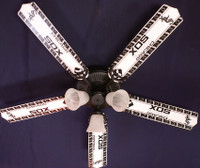 New MLB CHICAGO WHITE SOX BASEBALL Ceiling Fan 52""