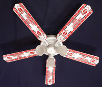 New MLB CINCINNATI REDS BASEBALL Ceiling Fan 52""